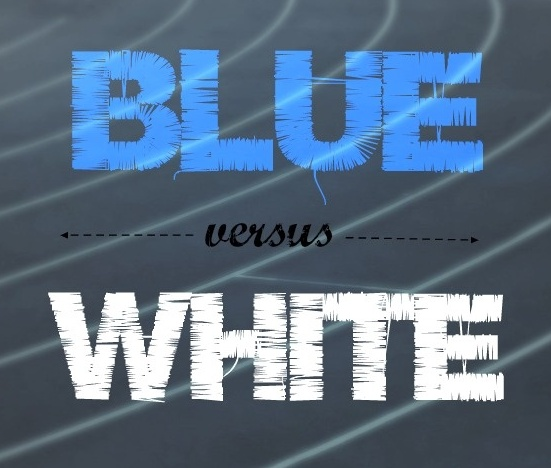 Blue vs White Small